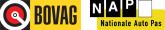 Logo Bovag en NAP